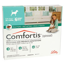 Comfortis Chewable Tablets For Dogs 9-18kg 6's Green