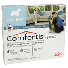 Comfortis Chewable Tablets For Dogs 18.1-27kg 6's Blue