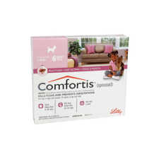 Comfortis Chewable Tablets For Dogs 2.3-4.5kg 6's Pink