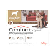 Comfortis Chewable Tablets For Dogs 27.1-54kg 6's Brown