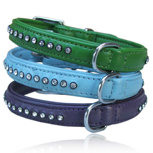Single Row Rhinestone Dog/Puppy Collars